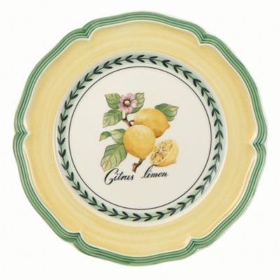 French Garden Valence Lemon Salad Plate