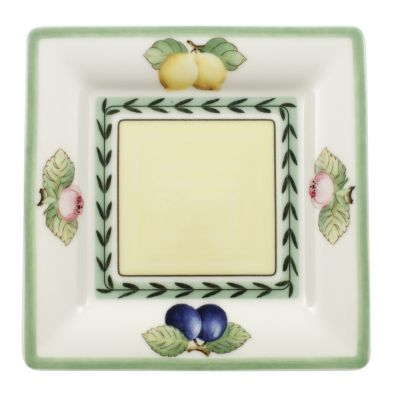 French Garden Macon Square Bread & Butter Fleurence Plate