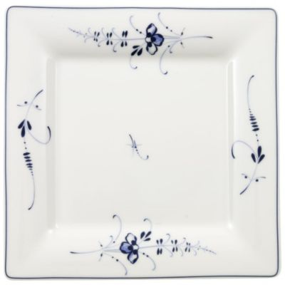 Vieux Luxembourg Square Salad Plate
