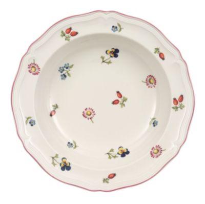 Petite Fleur Rim Cereal Bowl