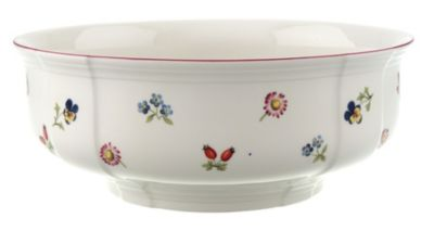 Petite Fleur Round Vegetable Bowl