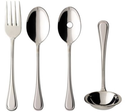 Merlemont 4-Piece Serve Set