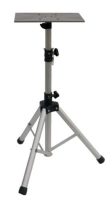 Tripod with Stainless Steel Mounting Plate for Portable Grills