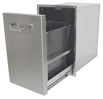 Pull-Out Trash Enclosure