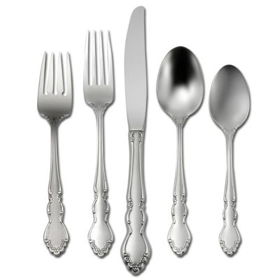Satin Dover 5-Piece Flatware Place Setting