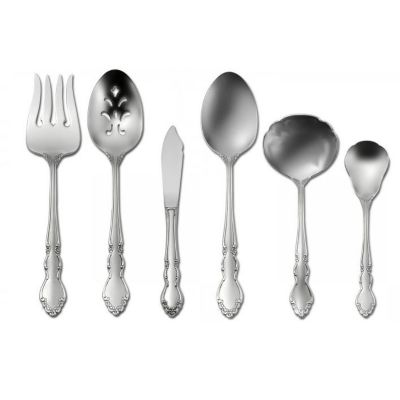 Satin Dover 6-Piece Flatware Serving Set