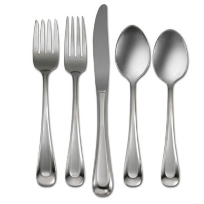Satin Sand Dune 45-Piece Flatware Set-Service for 8