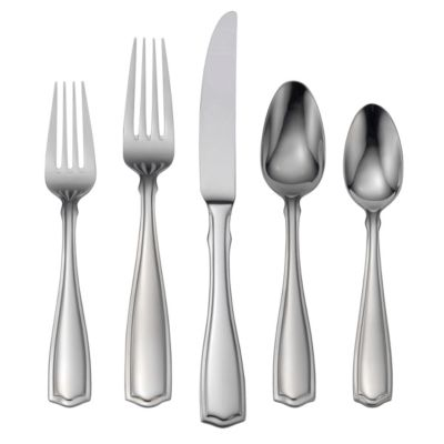 Carolina 65-Piece Flatware Set-Service for 12