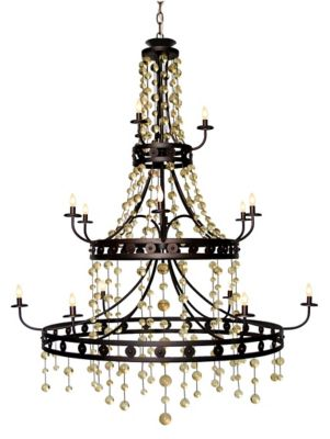Legacy Grand Chand 15-Light Chandelier