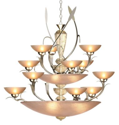 Almost Autumn Persuasive 18-Light Chandelier