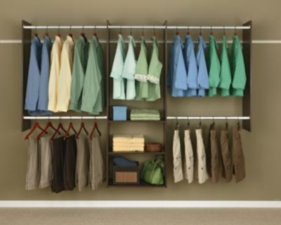 4' to 8' Deluxe Starter Closet Kit - Truffle