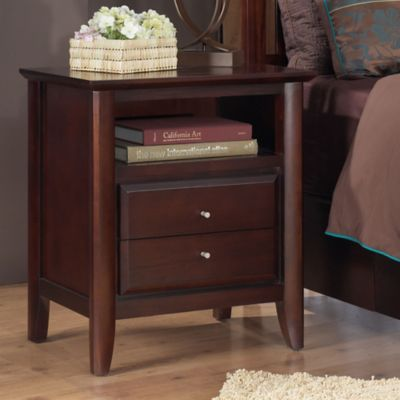 City II 2-Drawer Nightstand