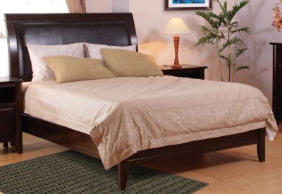 City II Sleigh Bed