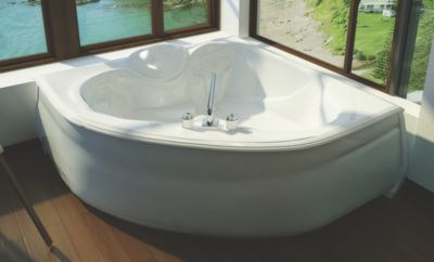Kashmir Acrylic Corner Bathtub