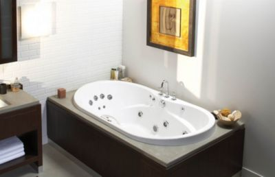 Living® 7236 Acrylic Bathtub with Hydromax® (Whirlpool System)