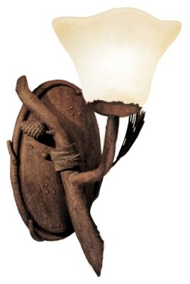 Ponderosa 1-Light Wall Sconce - Ponderosa
