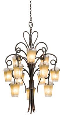 Tribecca 12-Light Chandelier - Antique Copper