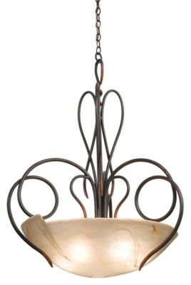 Tribecca 5-Light Pendant - Antique Copper