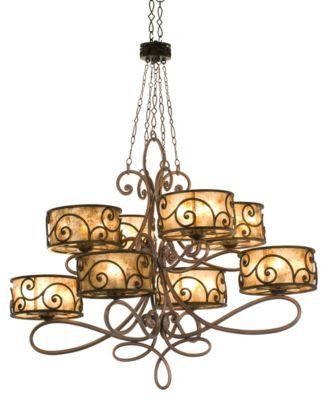 Windsor 40-Light Chandelier - Antique Copper