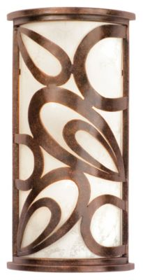 Asiana 1-Light Wall Sconce - Copper Claret