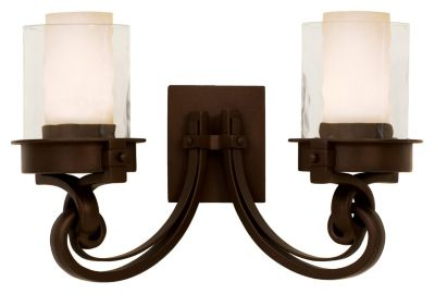 Newport 2-Light Bath Bar - Satin Bronze