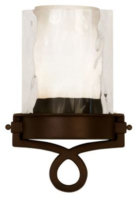 Newport 1-Light Wall Sconce - Satin Bronze