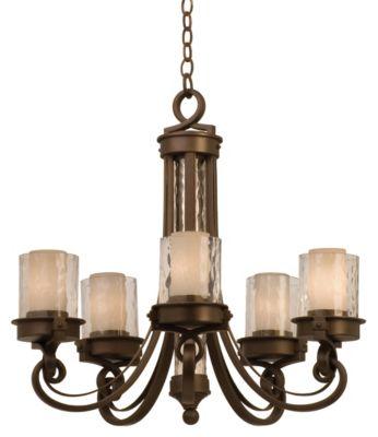 Newport 5-Light Chandelier - Satin Bronze