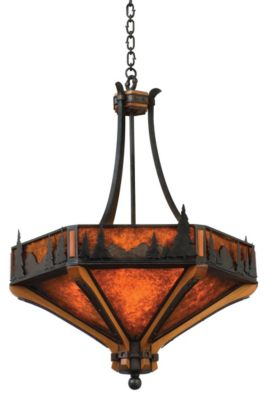 Aspen 6-Light Pendant - Natural Iron