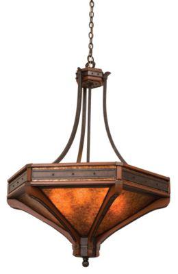 Aspen 6-Light Pendant - Natural Iron