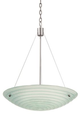 Aqueous 3-Light Pendant - Satin Nickel