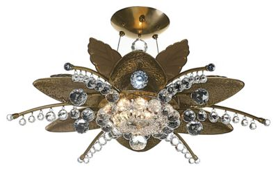 Stargazer 13-Light Semi-Flush - Chemical Bronze