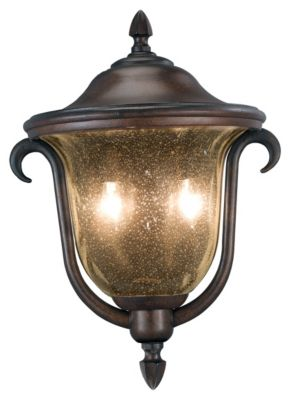 Santa Barbara 2-Light Outdoor Wall Lantern - Burnished Bronze