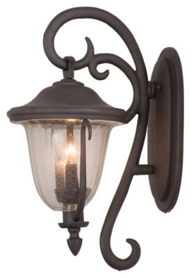 Santa Barbara 2-Light Outdoor Wall Lantern - Textured Matte Black