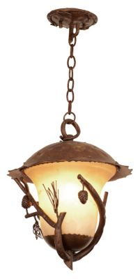 Ponderosa 3-Light Outdoor Hanging Lantern - Ponderosa