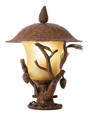 Ponderosa 1-Light Outdoor Post Lantern - Ponderosa