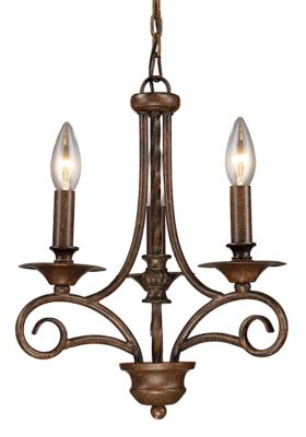 Gloucester 3-Light Convertible Chandelier
