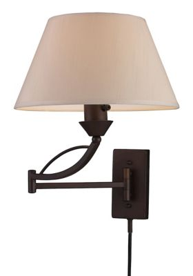 Elysburg 1-Light Swing-Arm Sconce