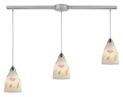 Seashore 3-Light Linear Bar Pendant