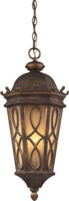 Burlington Junction 3-Light Outdoor Pendant