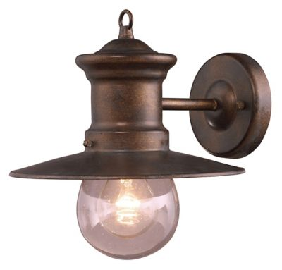 Maritime 1-Light Outdoor Wall Mount