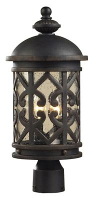 Tuscany Coast 2-Light Outdoor Post Lantern