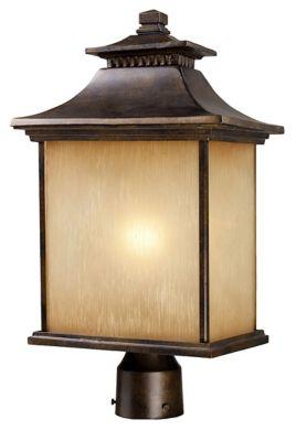 San Gabriel 1-Light Outdoor Post Lantern