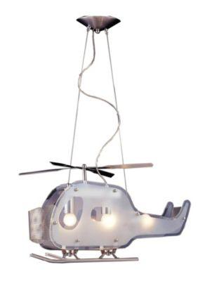 Children's 3-Light Chopper Pendant