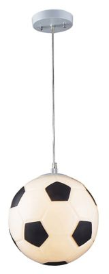 Children's 1-Light Soccer Ball Pendant