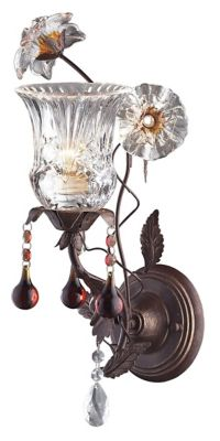 Cristallo Fiore 1-Light Wall Sconce
