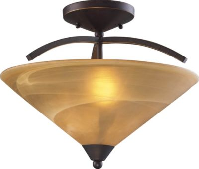 Elysburg 2-Light Semi-Flush Mount