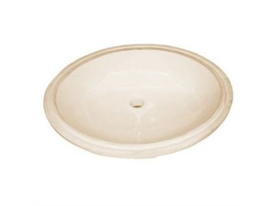 Oval Ceramic Undermount Lavatory Sink