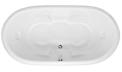 Aimee 7236 Oval - Available in 4 Systems (Soaker, Air, Whirlpool, Combo System) - Including Free Drain & Free Shipping to the Club