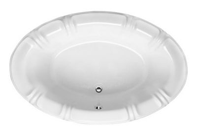 Alyssa 7848 Oval - Available in 4 Systems (Soaker, Air, Whirlpool, Combo System) - Including Free Drain & Free Shipping to the Club