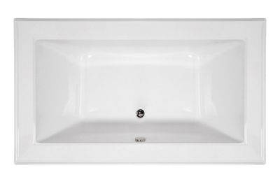 Angel 6642 Rectangular - Available in 4 Systems (Soaker, Air, Whirlpool, Combo System) - Including Free Drain & Free Shipping to the Club